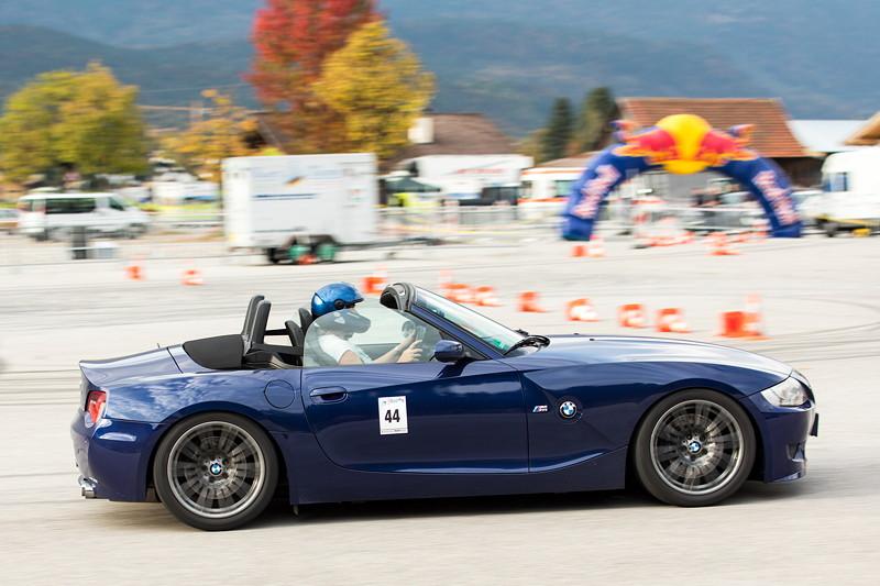 BMW Slalom Cup Finale am Hausberg in Garmisch Partenkirchen: Heike Eymanns holte im BMW Z4 (E85) den Tagessieg.