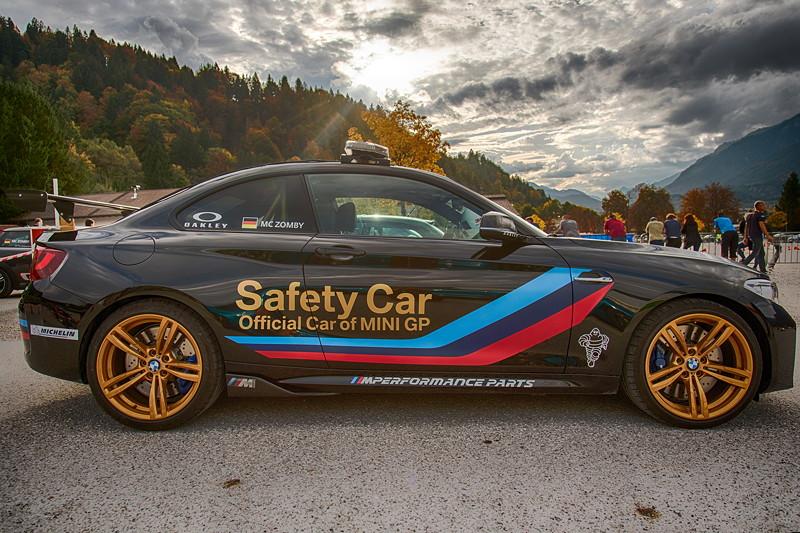 20 Jahre BCD Treffen: Teilnehmerfahrzeug BMW M2 als Safetycar.