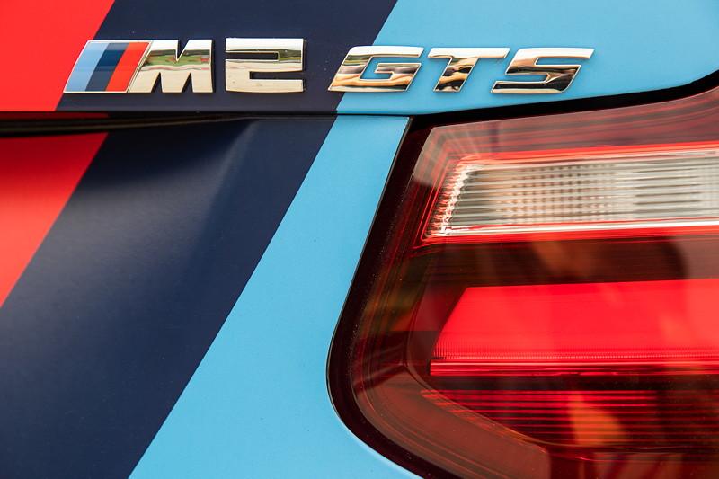 Teilnehmerfahrzeug BMW M2 als Safetycar. Um einen 'GTS' handelt es sich allerdings nicht.