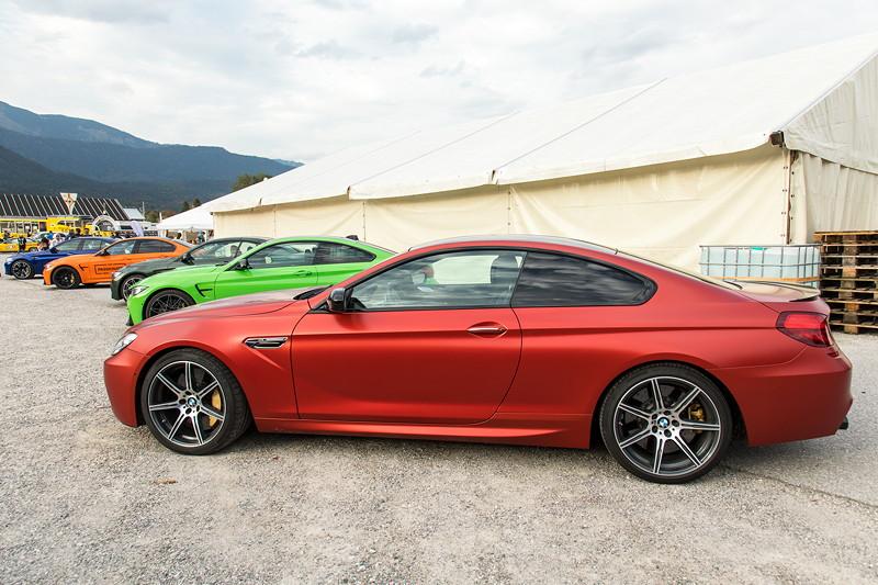 20 Jahre BCD Treffen: der scheidende BMW M6. Er wird künftig durch den M8 ersetzt.