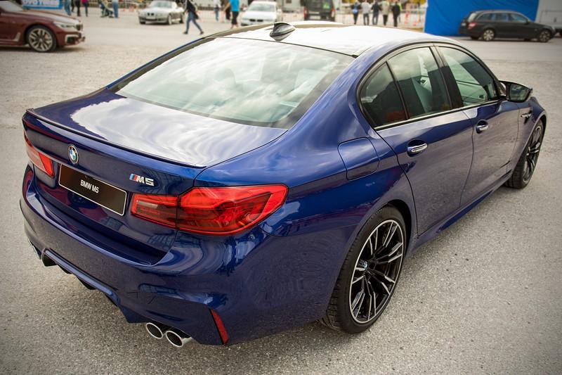 20 Jahre BCD Treffen. Das Highlight am Hausberg: der ganz neue BMW M5 - frisch von der IAA.