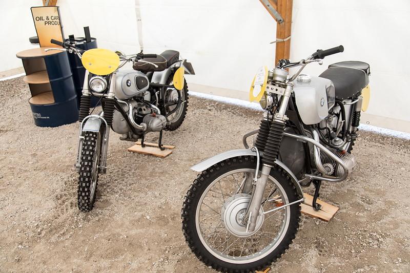 BCD Treffen20 Jahren BCD Treffen: BMW Classic Motorräder, vorne Renn-Motorrad aus dem Baujahr 1969.