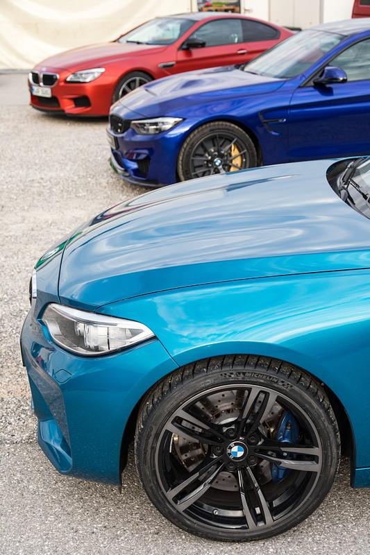 20 Jahre BCD Treffen, mit BMW M2, BMW M4 CS und BMW M6