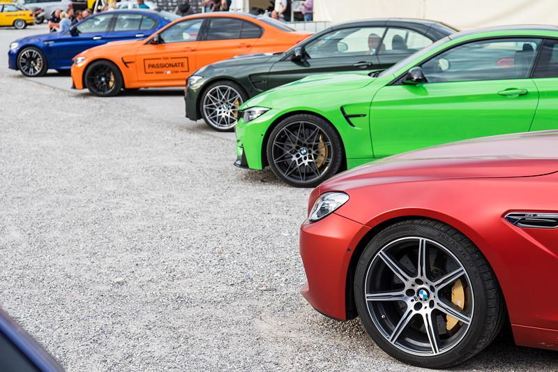 20 Jahre BCD Treffen mit insgesamt acht von der BMW M GmbH zur Verfügung gestellten M-Fahrzeugen.