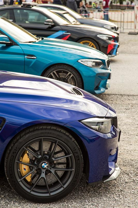 20 Jahre BCD Treffen, vorne: BMW M4 CS