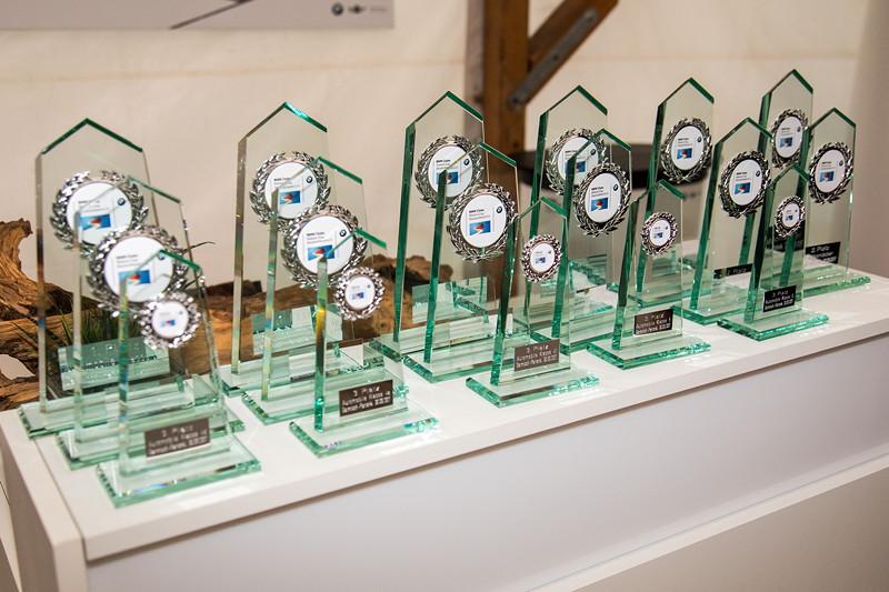 20 Jahre BCD Treffen, Siegerehrung Slalom Cup Finale am Samstag, Pokale