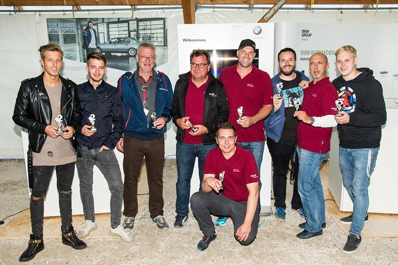 20 Jahre BCD Treffen, Siegerehrung Slalom Cup Finale am Samstag.