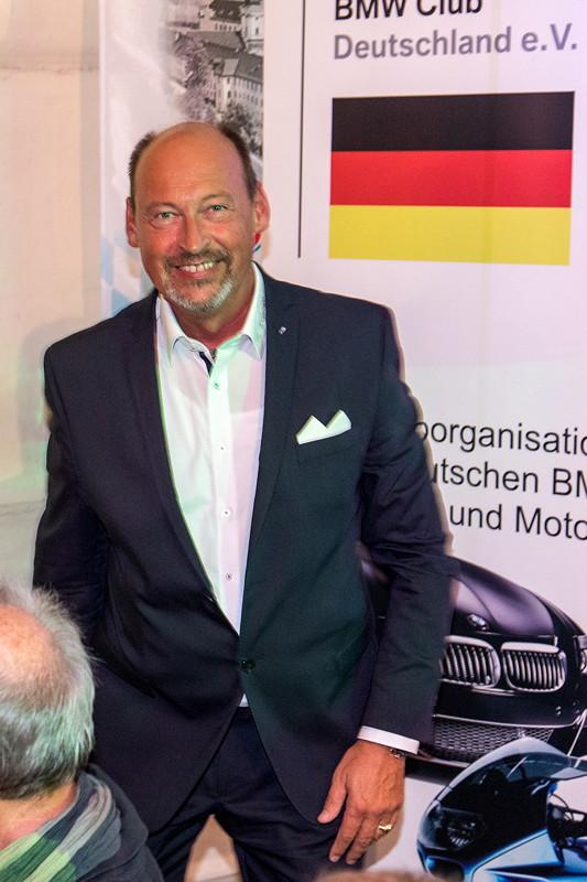 20 Jahre BCD Treffen, Festabend, BCD Präsident Helmut Schmid.