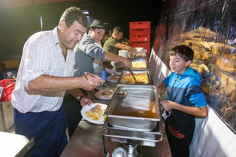 20 Jahre BCD Treffen, Festabend, zu Essen gab es ein 3-Gänge-Menü, das vor Ort 25 Euro kostete.