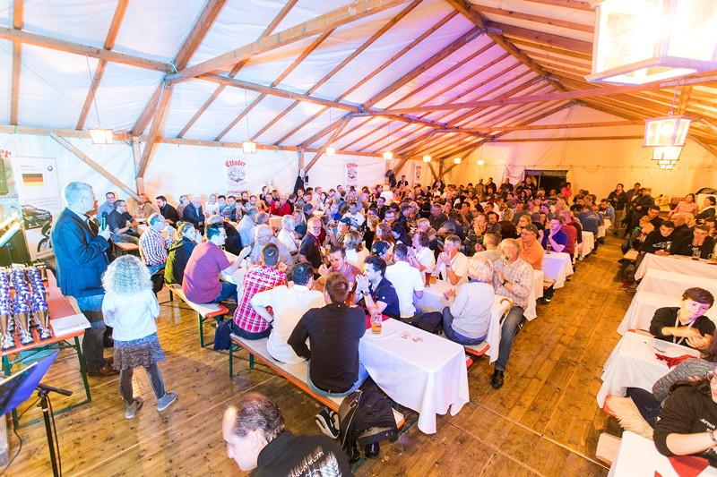 20 Jahre BCD Treffen, Festabend im Festzelt am Samstagabend