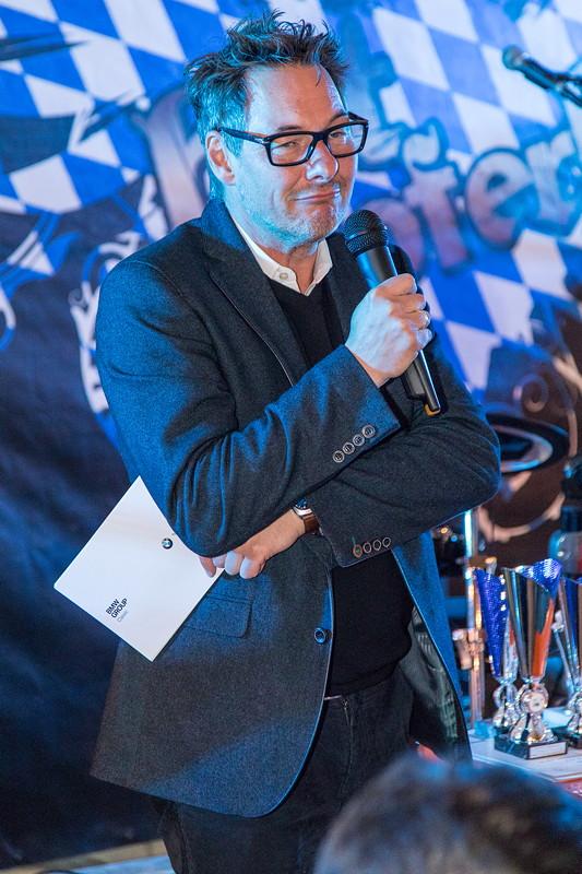 Manfred Grunert, BMW Group Classic, Archivleiter war zu Gast in Garmisch und sprach zu den Gästen.