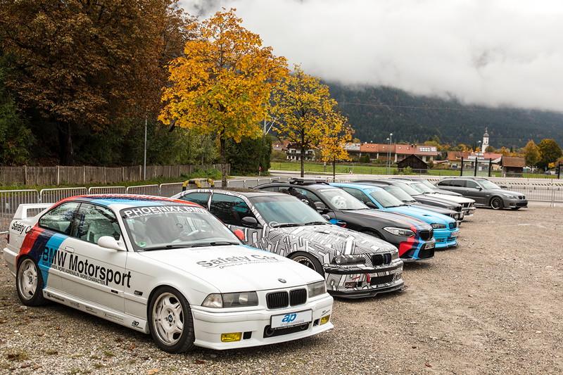 20 Jahre BCD Treffen am Sonntag: Show u. Shine am Hausberg. Bei widrigem Wetter nahmen nur wenige Fahrzeuge teil.