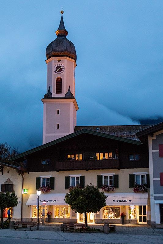 St. Martin Kirche in Garmisch Partenkirchen