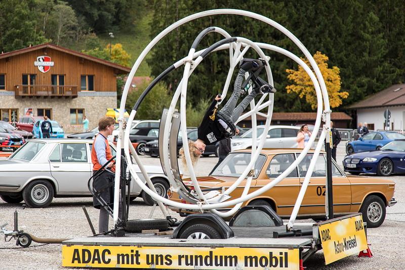 20 Jahre BCD Treffen, Action nicht nur für die Kinder gab es reichlich, hier der 'Astro-Kreisel'.
