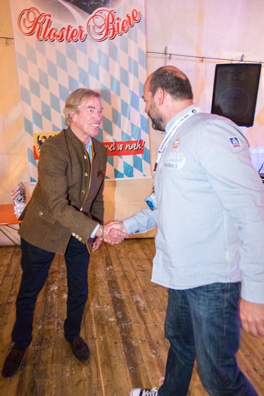 Die Sieger in der BCD Rallye wurden gekürt und vom Schirmherren, Prinz Leopold von Bayern, geehrt.