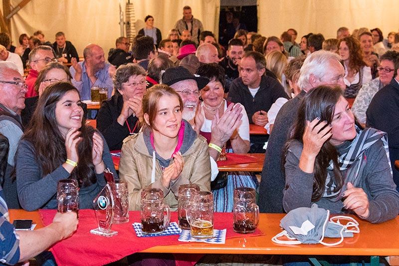 20 Jahre BCD Treffen, Bayerischer Abend.