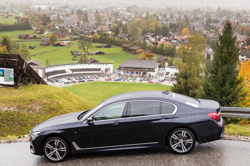 BMW 730Ld (G12) von Christian ('Christian') an der Olympia Schanze.