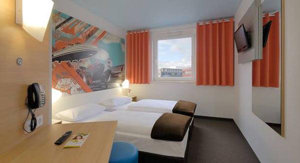 B&B Hotel in Böblingen, direkt an der MotorWorld gelegen