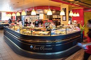 Café / Bäcker in der Motorworld Stuttgart