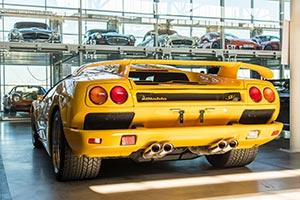 Lamborghini in der Motorworld Stuttgart