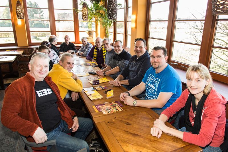 Rhein-Ruhr-Stammtisch im Café del Sol in Castrop Rauxel im März 2018.