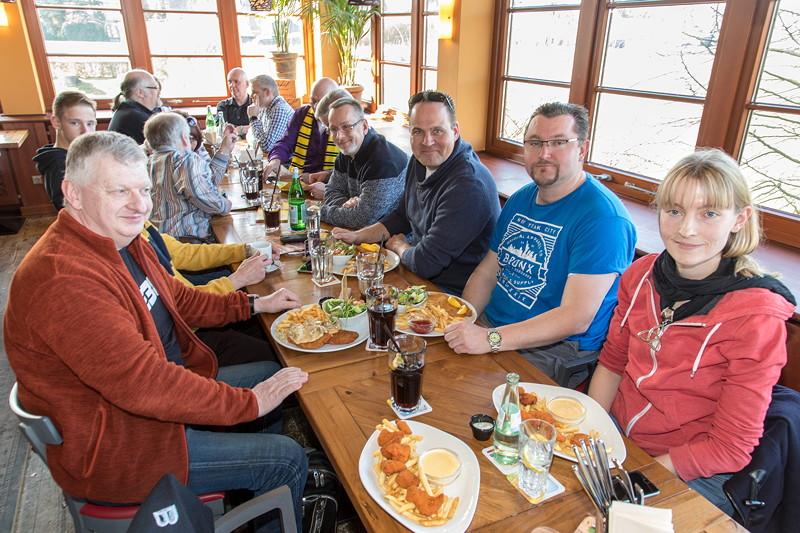Rhein-Ruhr-Stammtisch im März 2018 im Café del Sol in Castrop-Rauxel.