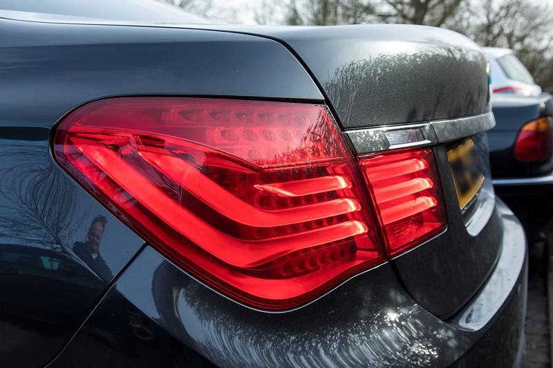 BMW 740i (F01) von Edwin ('Homerraas'), Rücklicht.
