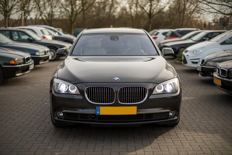 BMW 740i (F01) von Edwin ('Homerraas') beim Rhein-Ruhr-Stammtisch im März 2018