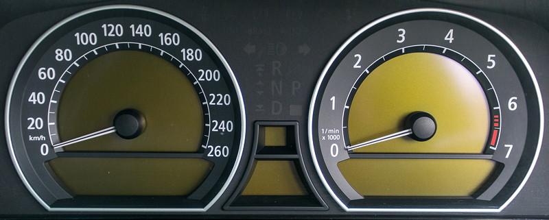 BMW 750i (E65 LCI), Japan-Import, Rechtslenker, von Olaf ('loewe40'), Tacho-Instrumente