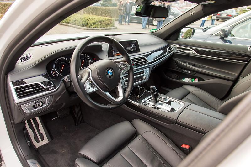 BMW 730d (G11), Firmenwagen von Ralf ('Ralle735iV8'), Cockpit