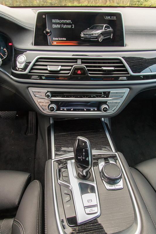 BMW 730d (G11), Firmenwagen von Ralf ('Ralle735iV8'), Mittelkonsole
