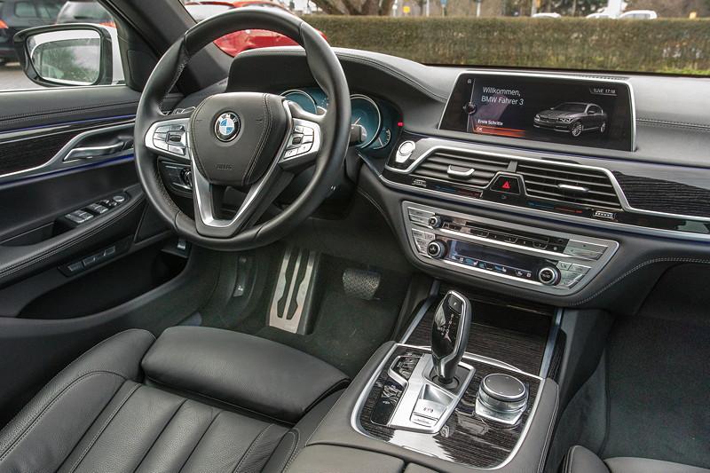 BMW 730d (G11), Firmenwagen von Ralf ('Ralle735iV8'), fahrerorientiertes Cockpit