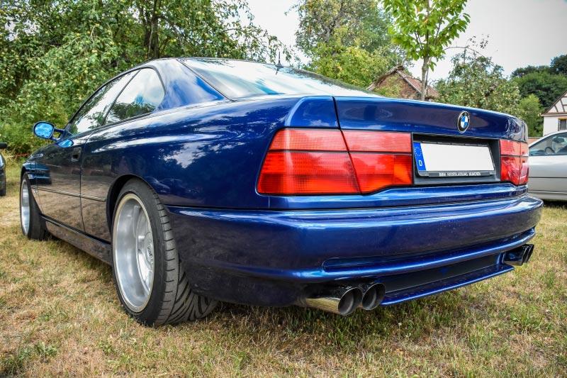 7er-Südhessenstammtisch meets 8-Series Club. BMW 8er.