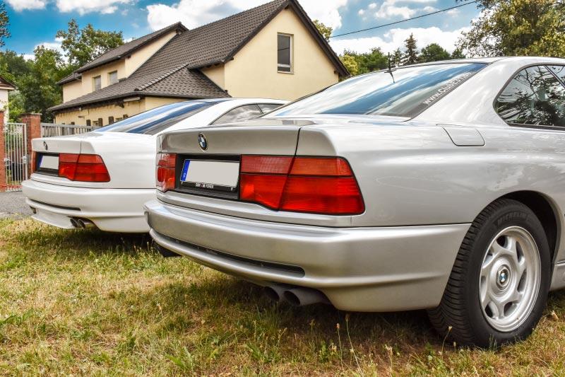 7er-Südhessenstammtisch meets 8-Series Club. BMW 8er-Reihe.
