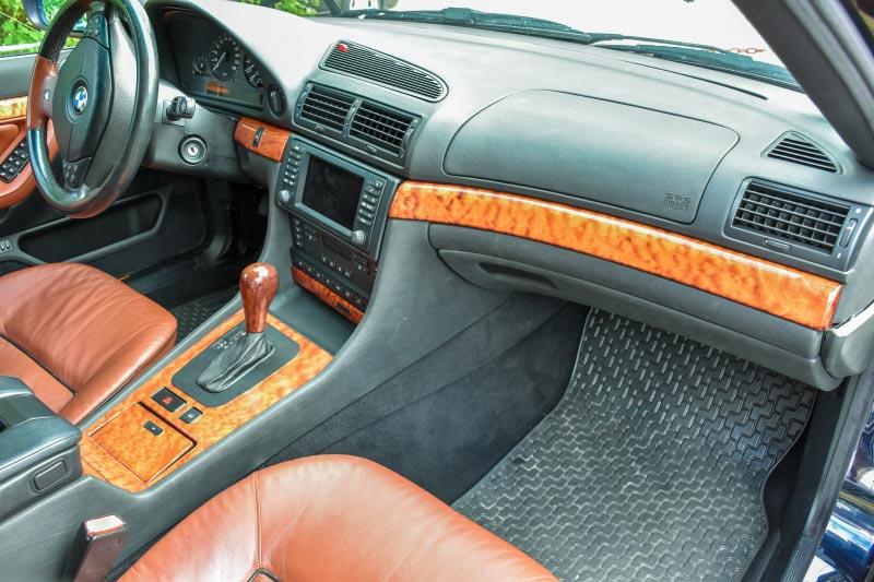7er-Südhessenstammtisch meets 8-Series Club. BMW 740i (E38) Individual von Darius ('dmg').