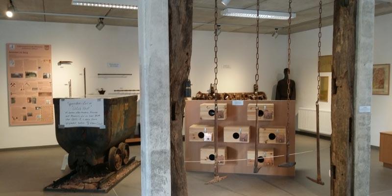 Grill-Stammtisch im Juli 2018: Bergwerkmuseum