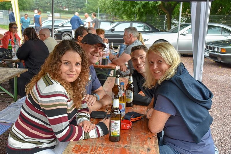 Familie 'Wuff' beim Jubiläums-Stammtisch der Südhessen in Sommerkahl