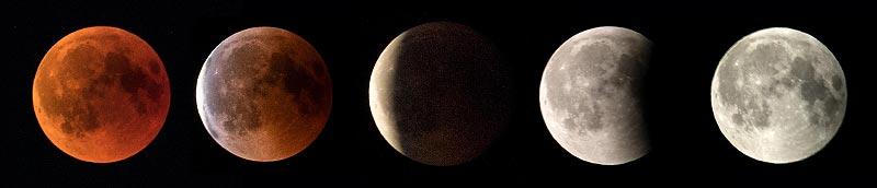 Am Tag nach der Mondfinsternis hat der Grillstammtisch in Sommerkahl stattgefunden.