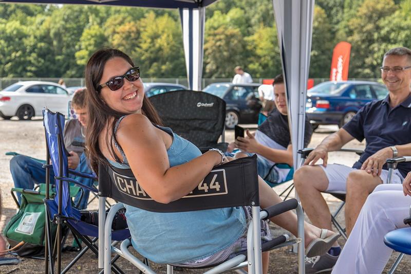 Ann-Kristin ('Rakete') ist regelmäßige Teilnehmerin bei BMW Treffen und Organisatorin der 7-forum.com Sternfahrt.