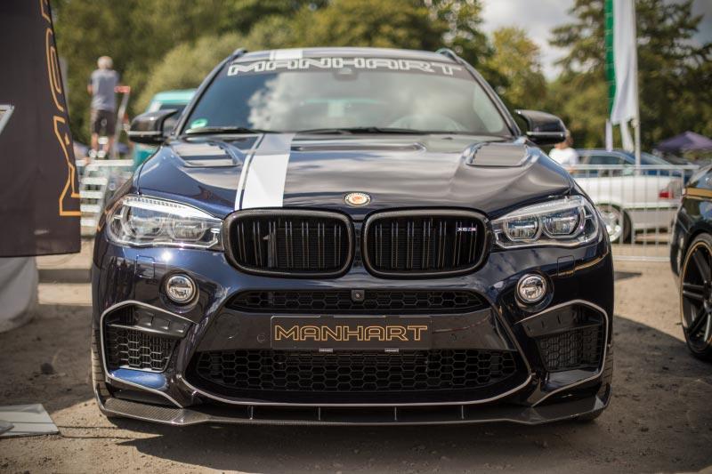 Manhart MHX6 700 auf Basis BMW X6 M mit 700 PS, BMW Scene Show 2018.