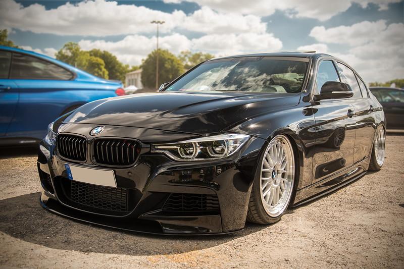 BMW Scene Show 2018: tiefergelegter BMW 3er (F30)