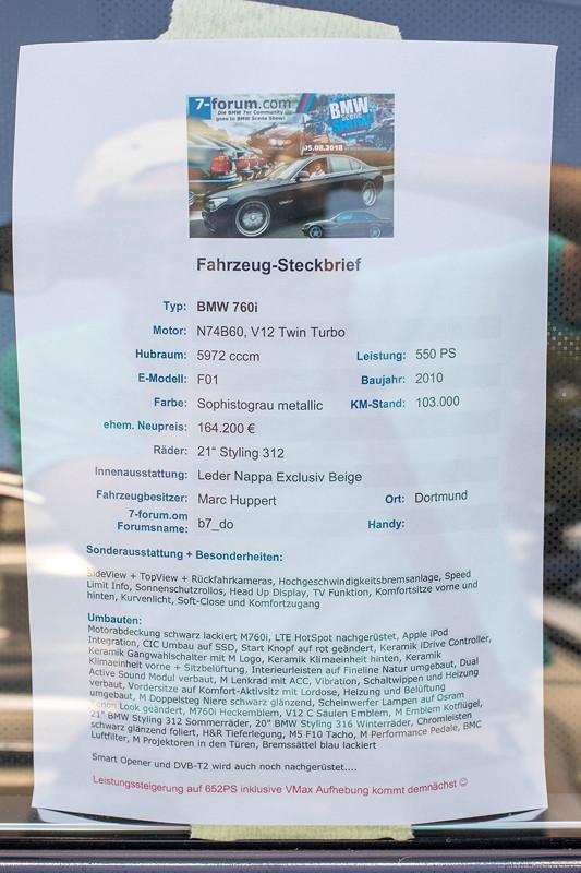 Steckbrief im BMW 760i (E65) von Marc ('b7_do')