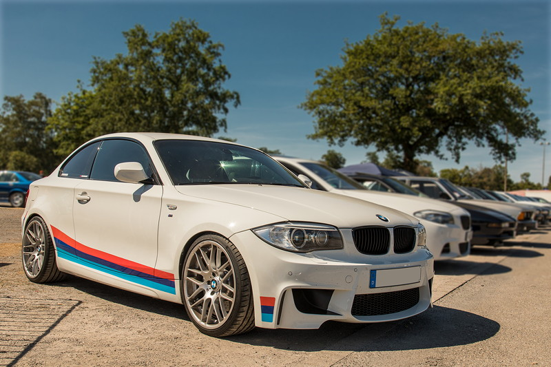 BMW 135i Coupé von Giray ('BMW-Freak') bei der BMW Scene Show 2018.