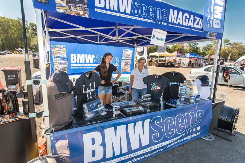 BMW Scene Show 2018: BMW Scene Magazin Info- und Merchandising Point