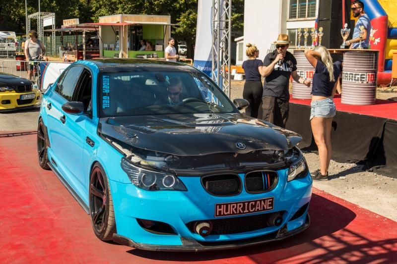 BMW Scene Show 2018: Auch dieser getunte BMW 5er 'Hurricane' (E60) bekam den Pokal 'Best of Show'.