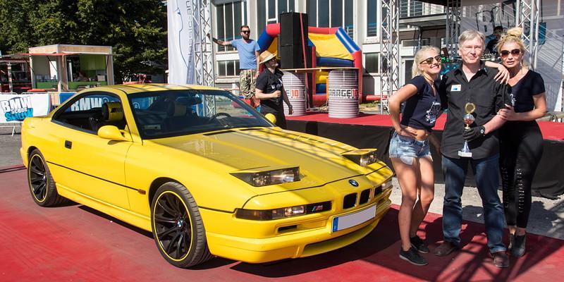 Zum Abschluss der BMW Scene Show wurden insgesamt 20 Pokale vergeben.