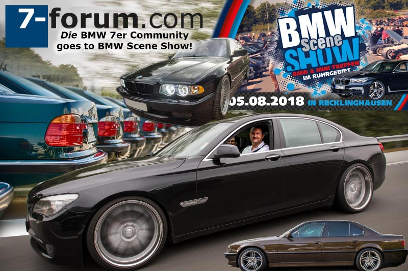 7-forum.com goes BMW Scene Show 2018