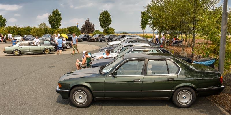 BMW 7er-Fahrer am Samstag beim BMW Treffen in Lützellinden
