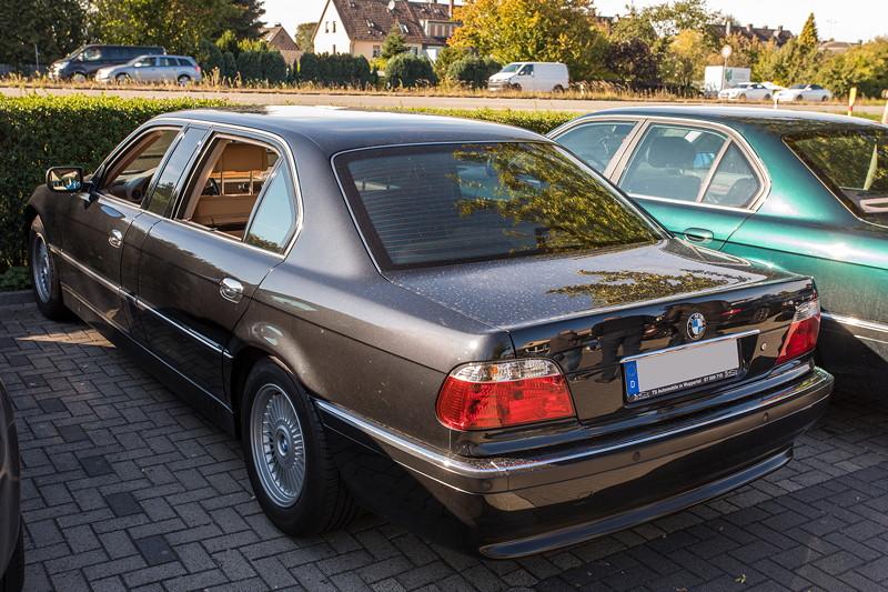 Rhein-Ruhr-Stammtisch im Oktober 2018: BMW L7 (E38) von Christian ('s2000silber')