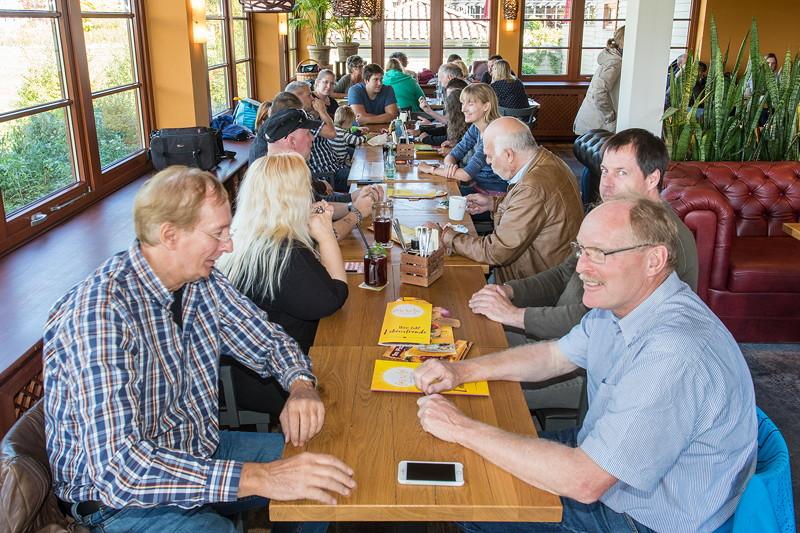 Rhein-Ruhr-Stammtisch im Oktober 2018 im Café del Sol in Castrop-Rauxel